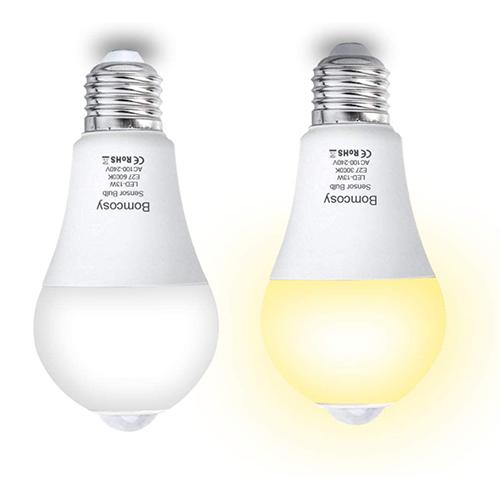 Lot de 2 Ampoules à Détecteur de Mouvements