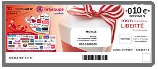 un Chèque Cadeau Tir Groupé de 10€